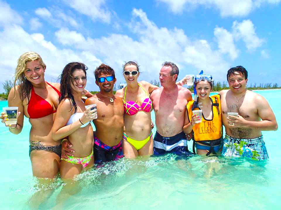 Snorkel in Cozumel with Tigers Adventures and Cozumel Snorkel Cielo Party tour