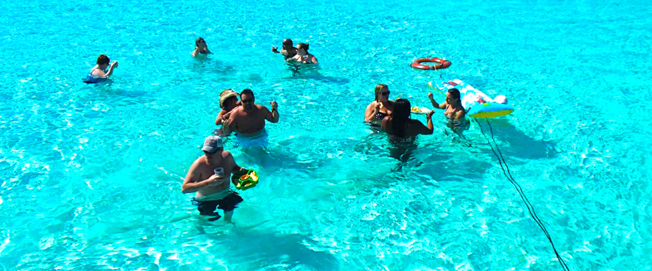 Cozumel snorkel and cielo party tour with Snorkeling en Cozumel