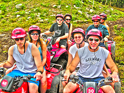 Cozumel ATV and Snorkel Tour for ATV Adventure and BEach Snorkel tour in Cozumel