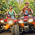 ATV Jungle Adventure and Snorkeling a Cozumel Reef from the Beach, Rated #1