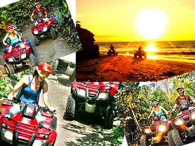 Cozumel ATV Jungle Adventure and Cozumel Beach Snorkel TOur