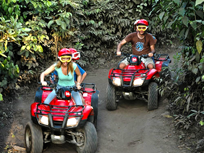 ATV Cozumel Adventure for Cozumel Mayan Ruins and Beach snorkel tour