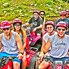 cozumel atv and snorkel tour to the best cozumel reefs and atv jungle adventure tour to Cozumel mayan ruins