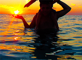 Cozumel Cielo Sunset tour takes you to El Cielo Cozumel to be amazed by the Cozumel sunset